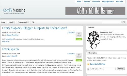 15 best free premium blogger templates xml blogtemplates. Black Bedroom Furniture Sets. Home Design Ideas